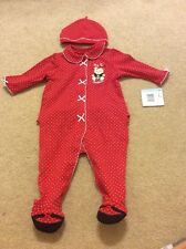 fc286804fd64b item 2 Little Me 6 Months Footie Hat MY FIRST CHRISTMAS Bear Red Polka Dot -Little  Me 6 Months Footie Hat MY FIRST CHRISTMAS Bear Red Polka Dot