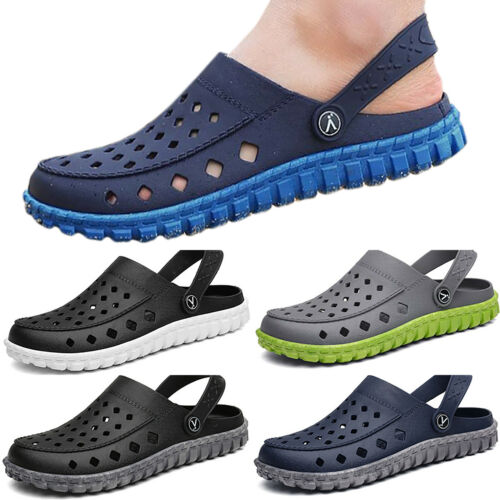 Men Flip Flops Summer Holiday Slippers Sandals Casual Beach Pool Garden Shoes