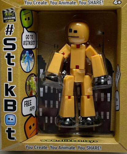Stikbot figurine pliable Présentoir Jouet Robot créer Zing Neuf H1