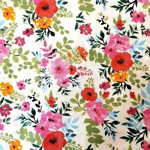 Baumwollstoff Kinderstoff Meterware 100/% Baumwolle Blumen Neu