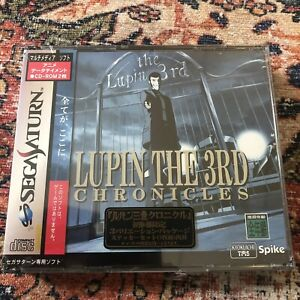 LUPIN-THE-3RD-CHRONICLES-Lupin-Version-Brand-New-Sega-Saturn-Factory-Sealed