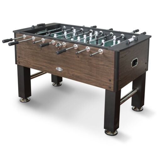 OFFICIAL COMPETITION SIZED FOOSBALL GAME TABLE SOCCER STEEL PLAYER RODS 56x29x35