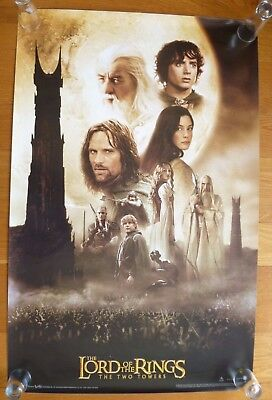 Lord Of The Rings The Two Towers 2002 Movie Poster Funky Ent 3570 Ebay