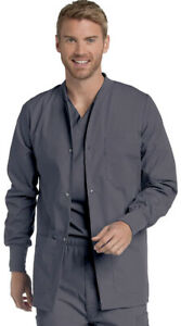 Landau Mens Premium 4-Pocket Fit Warm-Up Medical Scrub ...