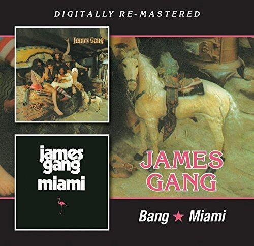 James Gang - Bang / Miami [New CD] UK - Import