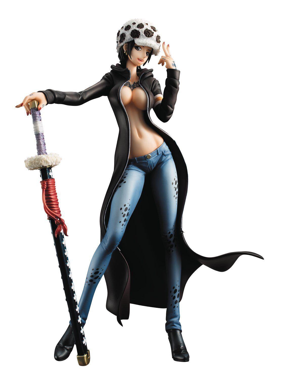 MegaHouse Excellent modellololo  One Piece POP I.R.O. Trafalgar Law 1 8 cifra  100% nuovo di zecca con qualità originale