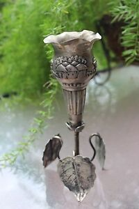 128 G South-eastern Asia Masterpiece Antique Silver Hand-carved Cup 19 Cm
