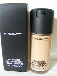 Mac foundation pro longwear