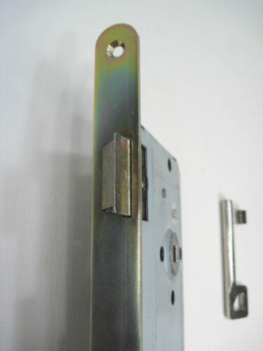 EINSTEMMSCHLOSS DIN-Norm 72mm Stulp 18mm BB Buntbart EINSTECKSCHLOSS