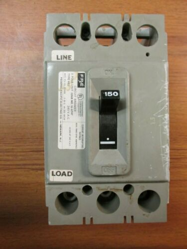 WC-90 FEDERAL PACIFIC BREAKER HEJ233150 3 POLE 150 AMP... FPE