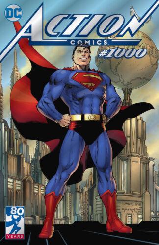 ACTION COMICS 1000 SDCC 2018 FOIL VARIANT SUPERMAN NM