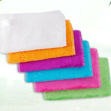 Anti-grease Washing Scouring Pad Dish Cloth Cleaning Rags Fiber Stable U9E1
