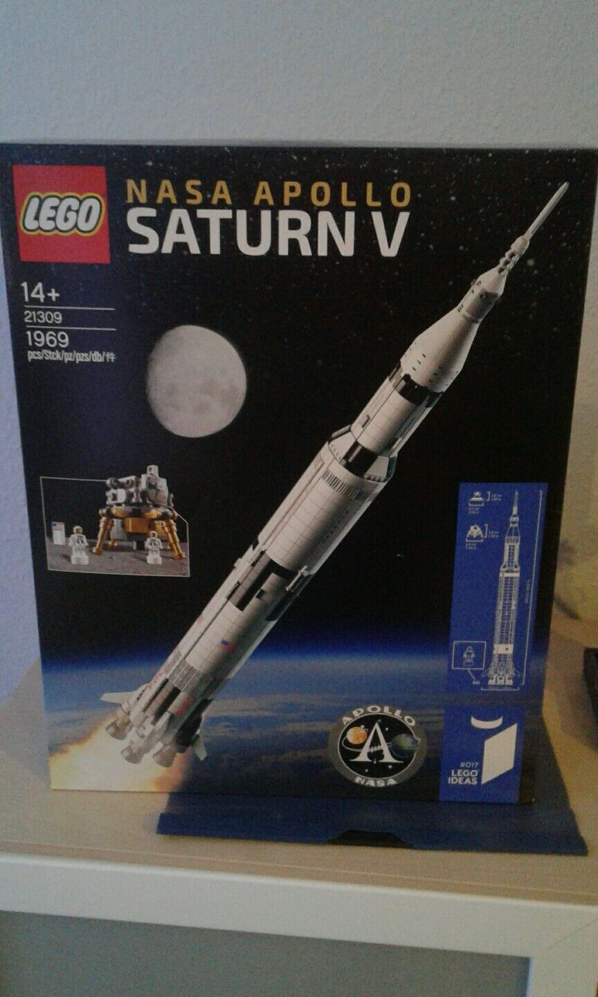 Lego 21309 nasa apollo saturn v rakete