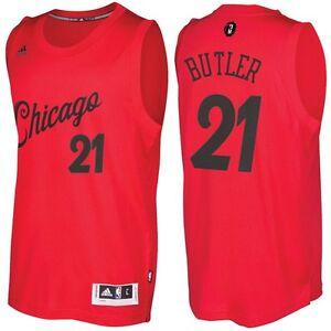 image is loading chicago bulls men 039 s 21 butler red - Chicago Bulls Christmas Jersey