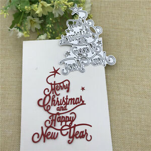 HAPPY NEW YEAR die cuts  scrapbook cards