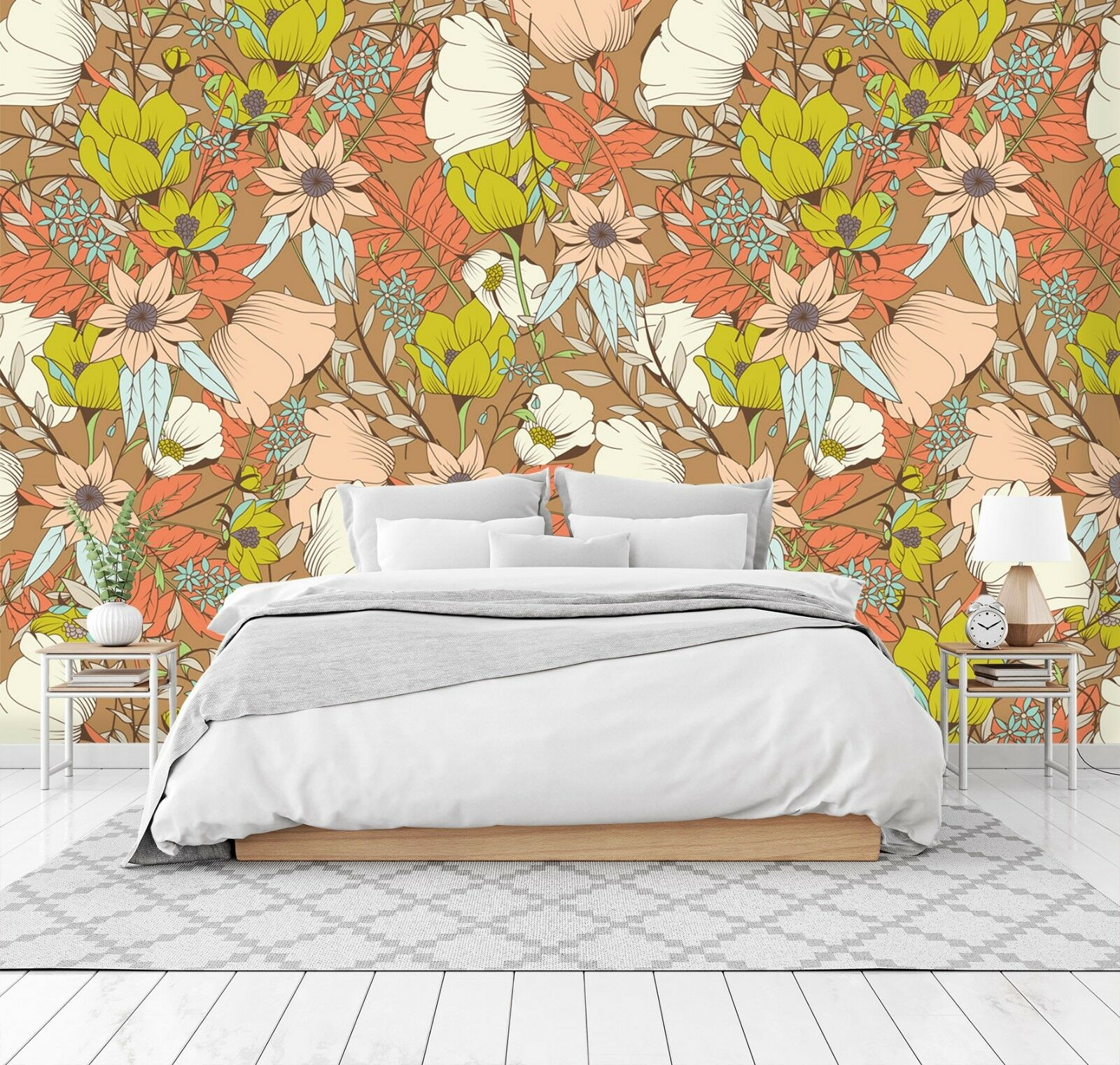 3D Beautiful Flowers 566 Wall Paper Wall Print Decal Deco Indoor Wall Mural CA