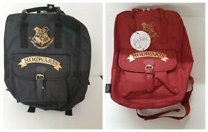 Harry-Potter-School-Bag-Pack-Rucksack-Luggage-Bag-Red-Black-Hogwarts-Fashion