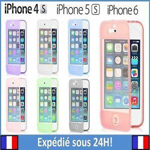 ETUI-COQUE-HOUSSE-RABAT-SILICONE-GEL-POUR-IPHONE-4-4S-5C-5S-SE-6-6S