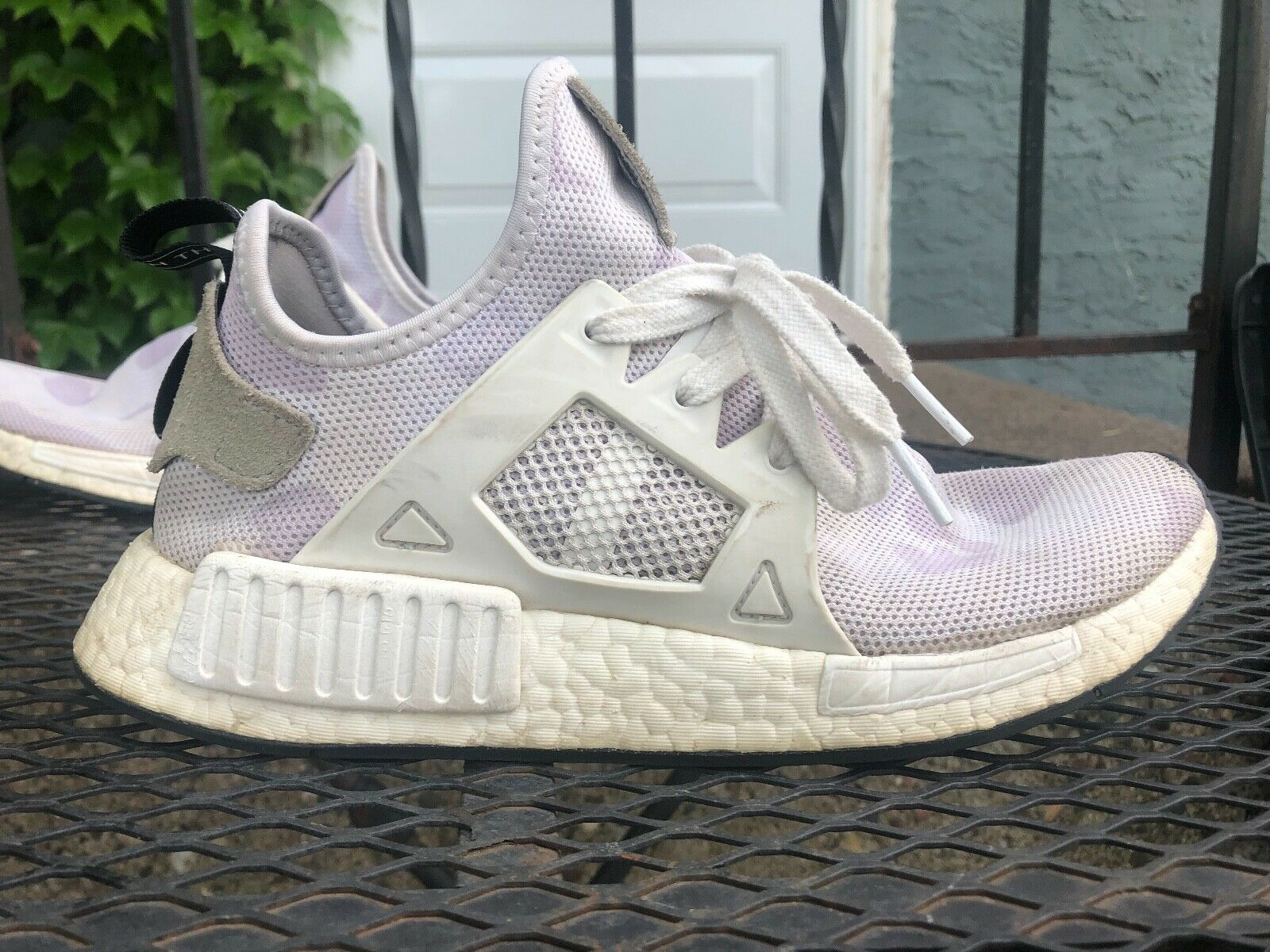 Adidas NMD XR1 Mens shoes Size 7 1 2 very nice condition white duck camo