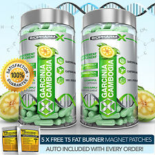 X2 STRONGEST LEGAL GARCINIA CAMBOGIA - SLIMMING / DIET & FAT BURNER PILLS