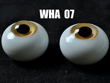 Light Yellow 18mm BJD Glass Eyes for DOD DZ AOD Volks Reborn Doll luts