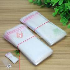 4x10CM 400 Buste Bustine Sacchetti Trasparenti Chiusura a Pressione Plastica