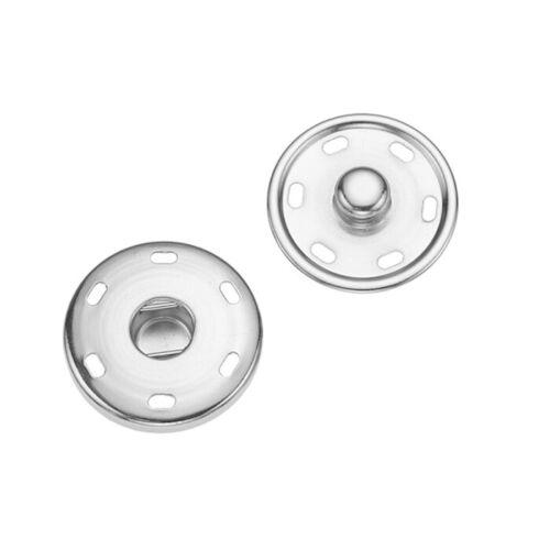 Nähmit Annähdruckknopf 30mm 2.60 EUR//Stück silber