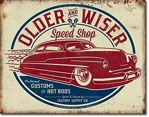 Older-and-Wiser-Speed-Shop-ls-metal-sign-400mm-x-310mm-de