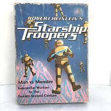 1971 Avalon Hill Robert Heinleins Starship Troopers Man vs Monster Board Game