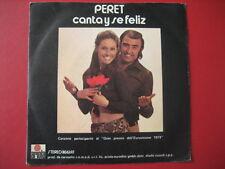 """PERET """"Canta y se feliz-Tocale las palmas"""" 45 ITALY MINT- EUROVISION 74"""