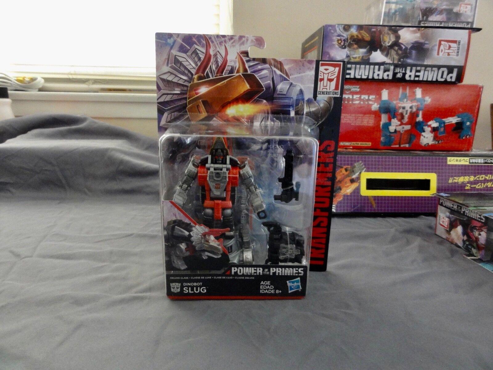 2017 Transformers Power Of the Primes Dinobot Slug Sealed MISB MIB BOX