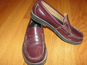 Sperry Boys Top-Sider COLTON Penny Loafer Burgundy Youth ...