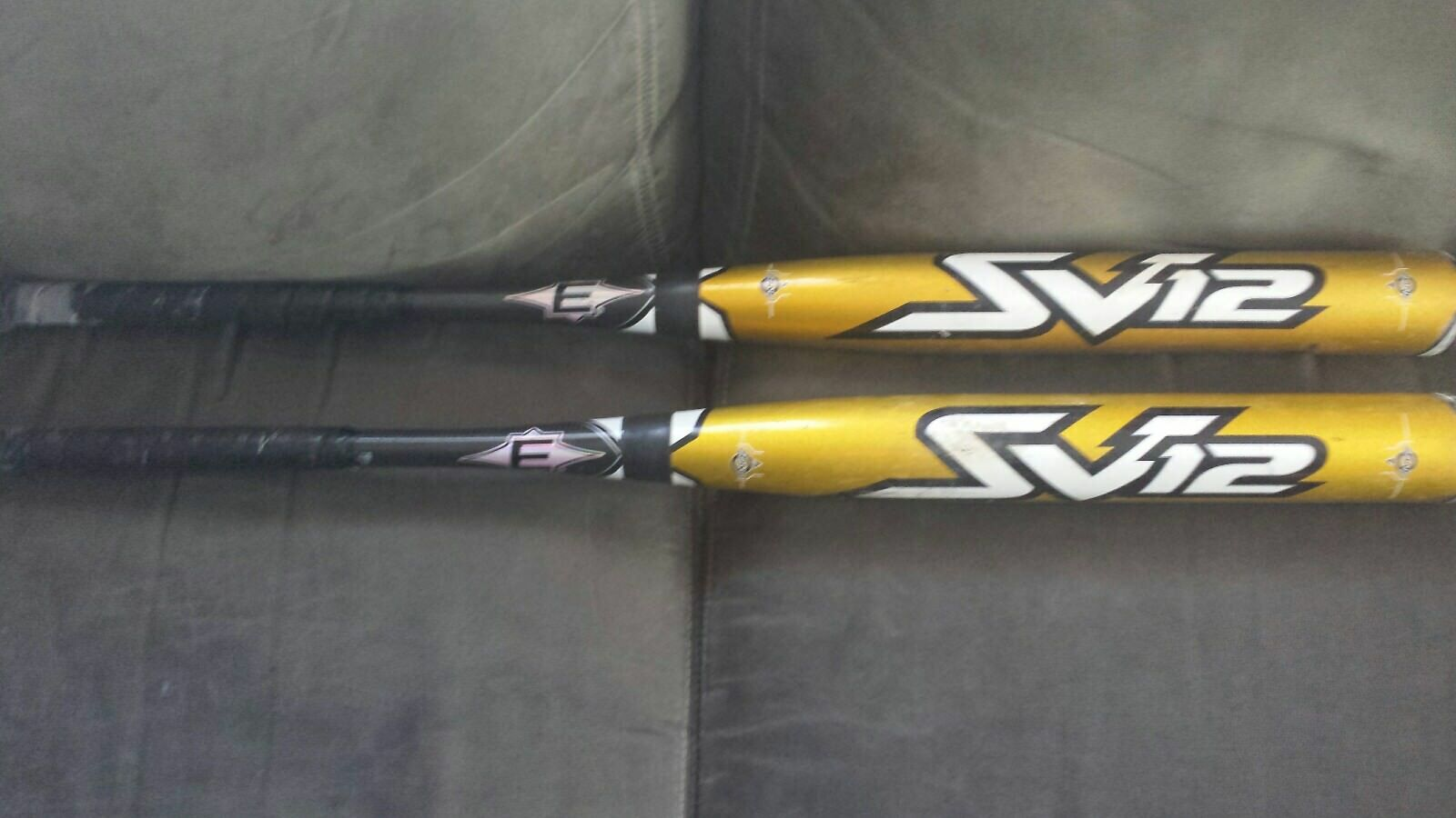 Easton SV12 softball bat  34  weight  26 or 28oz composite handle alloy barrel