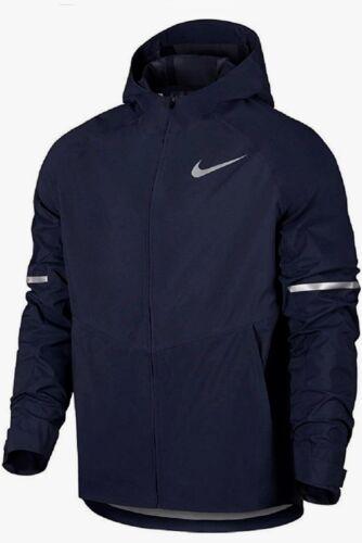 z para M reflectante para con marino F Nike Aeroshield L capucha hombre correr chaqueta Zonal azul xqp8pv
