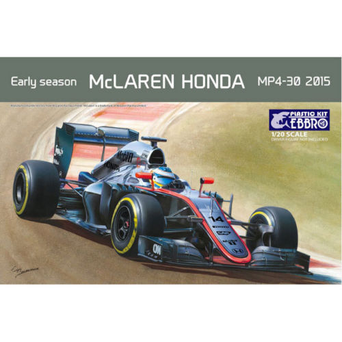 Ebbro E013 Mclaren Honda MP4-30 Early 2015 Season 1 20 Model Kit NIB