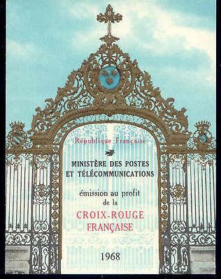 1 Markenheft/booklet ** Mnh 1968 NüTzlich FüR äTherisches Medulla Frankreich Rotes Kreuz
