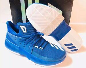 150 Adidas Blazer Damien Lillard Basketball Shoes Duke Kentucky Royal Blue 13 Ebay