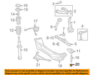 lexus is300 front suspension diagram wiring diagram name IS300 Turbo lexus toyota oem 01 05 is300 front suspension engine cradle nut lexus is300 slammed lexus is300 front suspension diagram