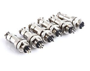 GX12-Aviation-Rundsteckverbinder-Stecker-amp-Buchse-Durchmesser-12mm-neu