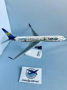 Condor-Boeing-767-300ER-JANOSCH-1-200-PPC-Holland-Flugzeugmodell-NEU-OVP
