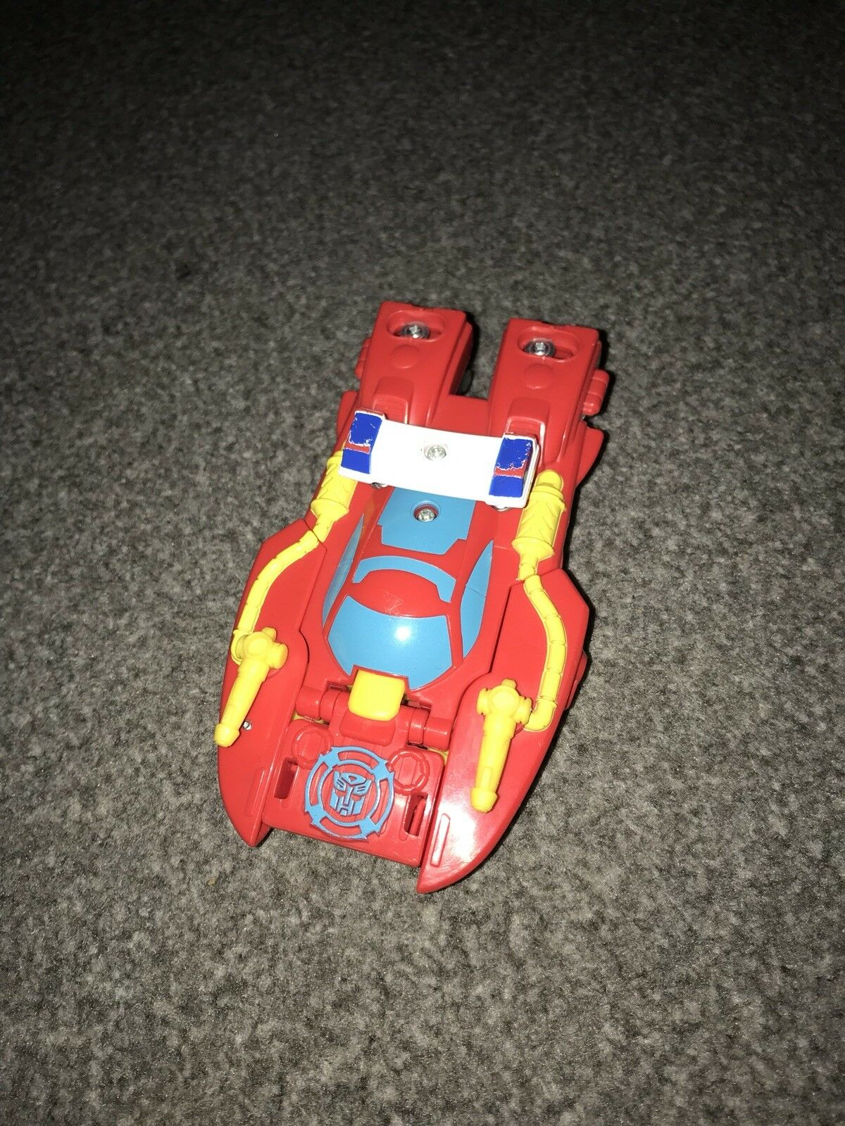 Playskool Heroes Transformers Rescue Bots HEATWAVE Fire boat. Very Rare