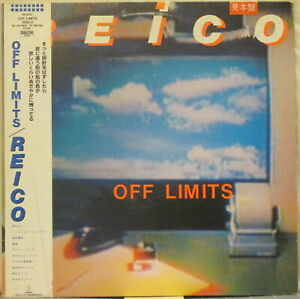 REICO-Off-Limits-LP-Japanese-Rock-Pop-w-Obi-and-4-Page-Insert