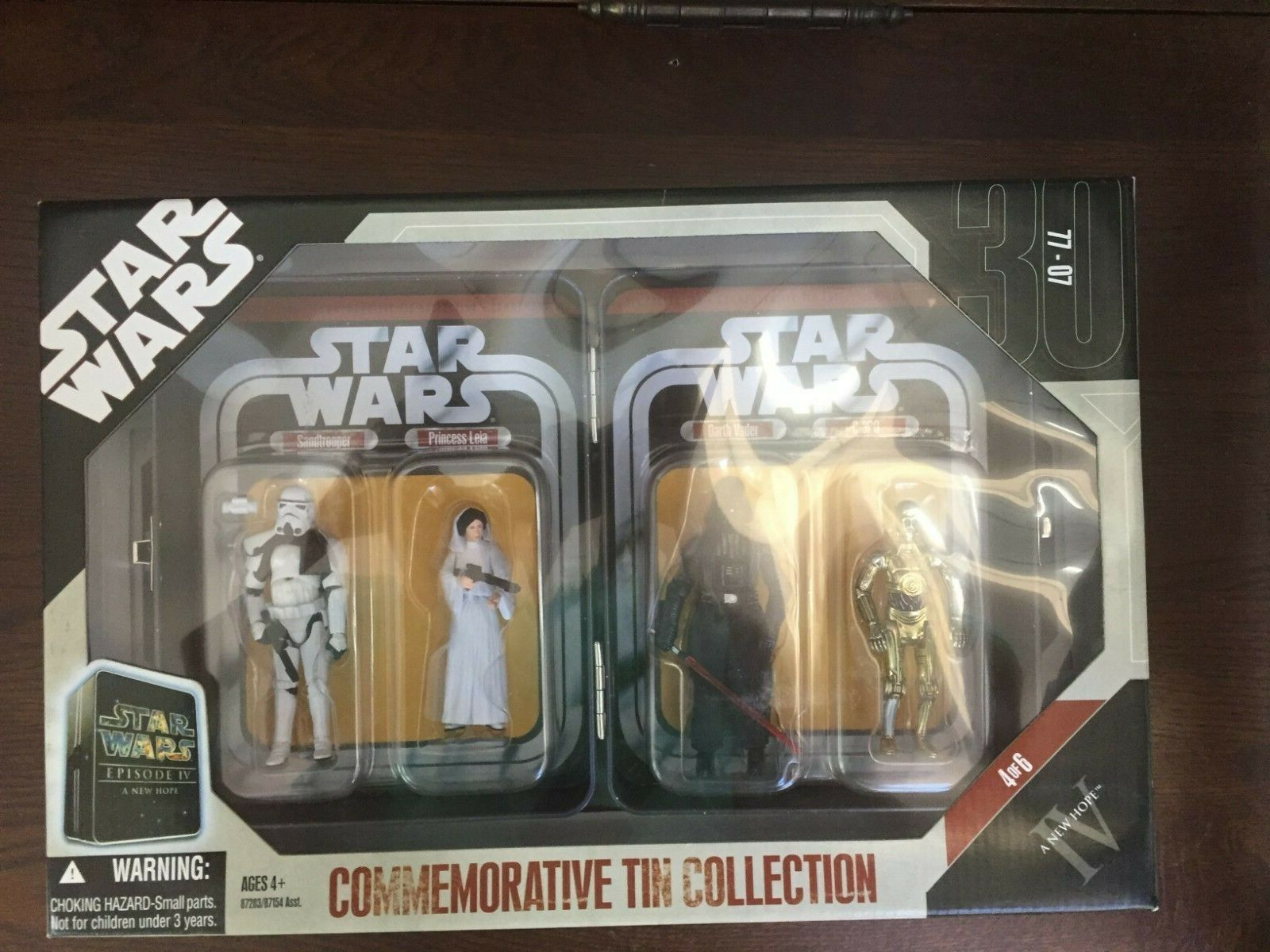 NEW 2006 STAR WARS COMMEMORATIVE TIN COLLECTION A NEW HOPE EPISODE IV 4 OF 6