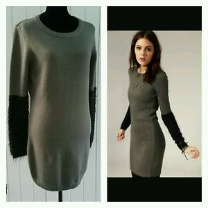 05ec8645cd2 Image is loading Urban-Outfitters-Cheap-Monday-Women-L-Knit-Sweater-