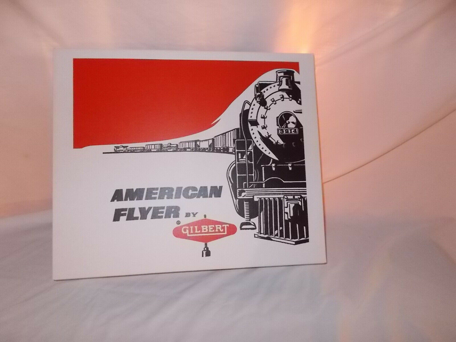 AMERICAN FLYER 20410 REPRODUCTION SET BOX AND INSERTS ONLY-NO TRAINS OR CARS
