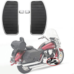 Motorcycle-Front-Rear-Footboards-Floorboard-For-Honda-Shadow-Aero-750-VT750