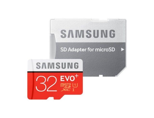 Samsung 32Go EVO plus 80Mo/s MicroSD SDHC UHS-I Class 10 Memory B