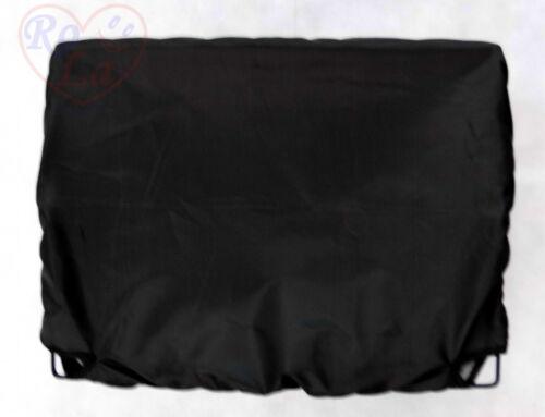 Fahrradkorb Abdeckung Korbschutz Korbabdeckung NEU Korbhaube Regenschutz schwarz