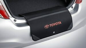 GENUINE-TOYOTA-YARIS-HATCH-BUMPER-BOOT-SCUFF-GUARD-NEOPRENE-FOLD-OUT-FABRIC
