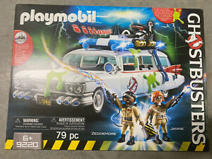 Playmobil-Ghostbusters-Ecto-1-Building-Set-9220-NEW-Toys